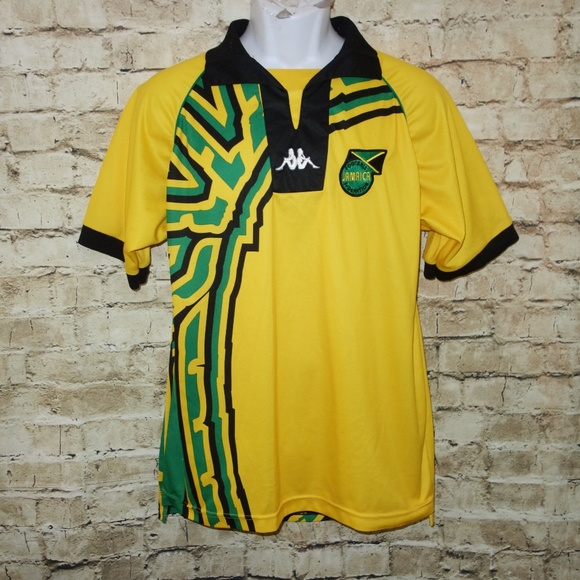 outlet store 724f3 a2206 Kappa Futbol Jersey Jamaica 1998 World Cup
